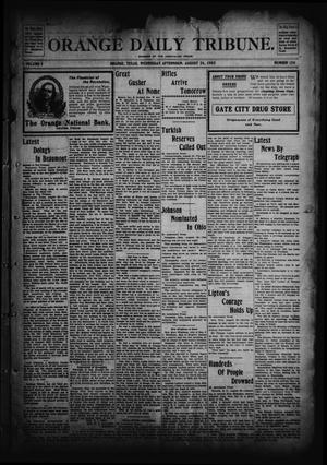 Orange Daily Tribune. (Orange, Tex.), Vol. 2, No. 130, Ed. 1 Wednesday, August 26, 1903