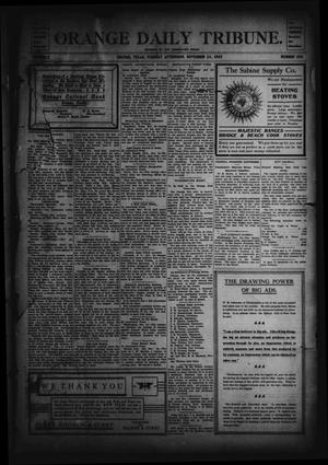 Primary view of object titled 'Orange Daily Tribune. (Orange, Tex.), Vol. 2, No. 206, Ed. 1 Tuesday, November 24, 1903'.