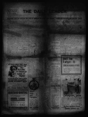 The Daily Leader and Tribune. (Orange, Tex.), Vol. 4, No. 90, Ed. 1 Wednesday, June 28, 1911