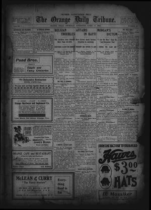 Primary view of object titled 'The Orange Daily Tribune. (Orange, Tex.), Vol. 1, No. 29, Ed. 1 Thursday, April 17, 1902'.
