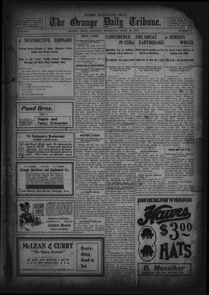 Primary view of object titled 'The Orange Daily Tribune. (Orange, Tex.), Vol. 1, No. 37, Ed. 1 Saturday, April 26, 1902'.