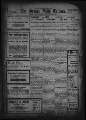 Primary view of object titled 'The Orange Daily Tribune. (Orange, Tex.), Vol. 1, No. 47, Ed. 1 Thursday, May 8, 1902'.