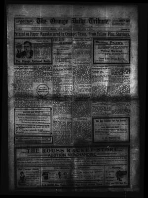 Primary view of object titled 'The Orange Daily Tribune. (Orange, Tex.), Vol. 2, No. 21, Ed. 1 Wednesday, April 8, 1903'.