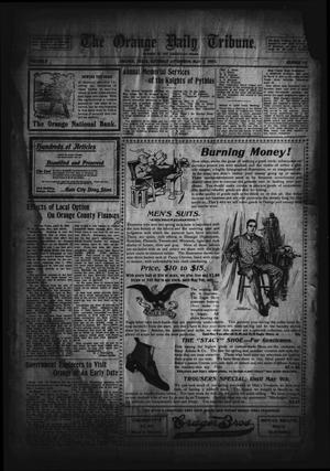 Primary view of object titled 'The Orange Daily Tribune. (Orange, Tex.), Vol. 2, No. 32, Ed. 1 Saturday, May 2, 1903'.