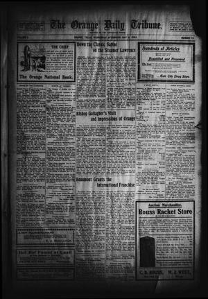 Primary view of object titled 'The Orange Daily Tribune. (Orange, Tex.), Vol. 2, No. 35, Ed. 1 Wednesday, May 6, 1903'.