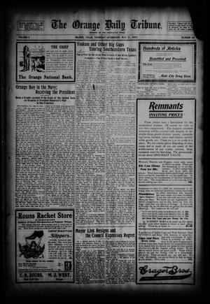 Primary view of object titled 'The Orange Daily Tribune. (Orange, Tex.), Vol. 2, No. 48, Ed. 1 Thursday, May 21, 1903'.