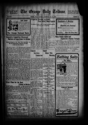 Primary view of object titled 'The Orange Daily Tribune. (Orange, Tex.), Vol. 2, No. 50, Ed. 1 Saturday, May 23, 1903'.