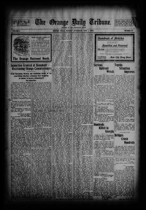 Primary view of object titled 'The Orange Daily Tribune. (Orange, Tex.), Vol. 2, No. 57, Ed. 1 Monday, June 1, 1903'.