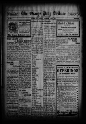 Primary view of object titled 'The Orange Daily Tribune. (Orange, Tex.), Vol. 2, No. 58, Ed. 1 Tuesday, June 2, 1903'.