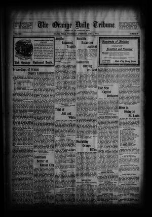 Primary view of object titled 'The Orange Daily Tribune. (Orange, Tex.), Vol. 2, No. 59, Ed. 1 Wednesday, June 3, 1903'.
