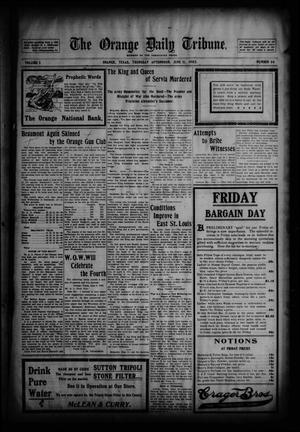 The Orange Daily Tribune. (Orange, Tex.), Vol. 2, No. 66, Ed. 1 Thursday, June 11, 1903