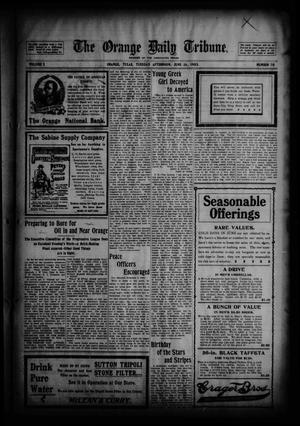 Primary view of object titled 'The Orange Daily Tribune. (Orange, Tex.), Vol. 2, No. 70, Ed. 1 Tuesday, June 16, 1903'.