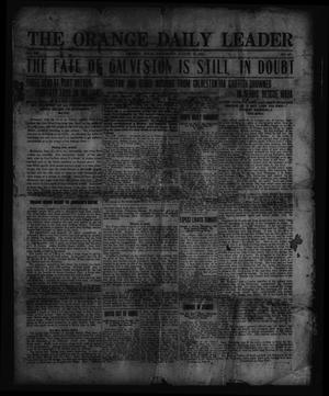 Primary view of object titled 'The Orange Daily Leader. (Orange, Tex.), Vol. 8, No. 669, Ed. 1 Wednesday, August 18, 1915'.