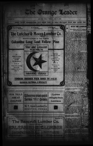 The Orange Leader (Orange, Tex.), Vol. 15, No. 7, Ed. 1 Friday, July 10, 1903