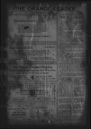 Primary view of The Orange Leader (Orange, Tex.), Vol. 18, No. 34, Ed. 1 Friday, December 11, 1908