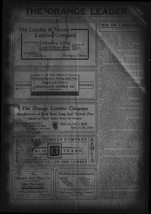 The Orange Leader (Orange, Tex.), Vol. 19, No. 11, Ed. 1 Friday, May 7, 1909