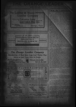 The Orange Leader (Orange, Tex.), Vol. 19, No. 13, Ed. 1 Friday, May 21, 1909