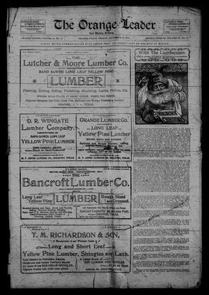Primary view of The Orange Leader and Weekly Tribune. (Orange, Tex.), Vol. 11, No. 31, Ed. 1 Friday, December 22, 1899
