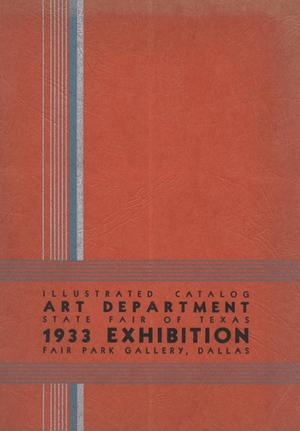 Primary view of object titled 'Illustrated Catalog: Art Department State Fair of Texas: 1933 Exhibition'.