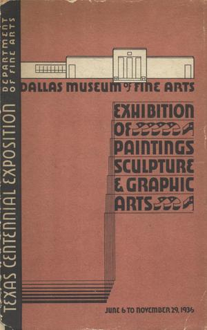 Primary view of object titled 'The Centennial Exposition: Catalogue of the Exhibition of Paintings, Sculptures, Graphic Arts'.