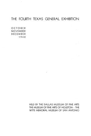 Primary view of object titled 'The Fourth Texas General Exhibition'.