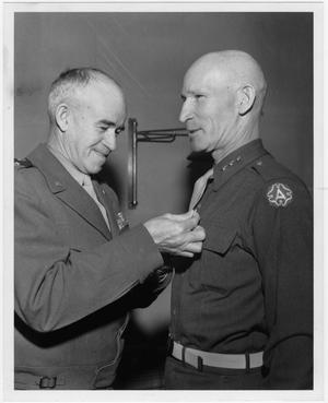 [William Hood Simpson and General Omar N. Bradley]
