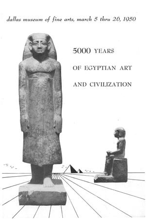 Primary view of object titled '5000 Years of Egyptian Art and Civilization'.