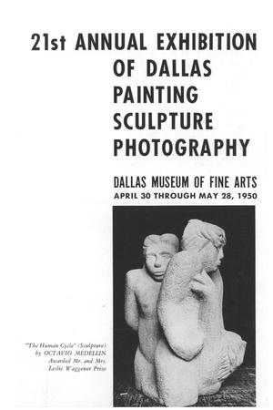 Primary view of object titled '21st Annual Exhibition of Dallas Painting Sculpture Photography'.