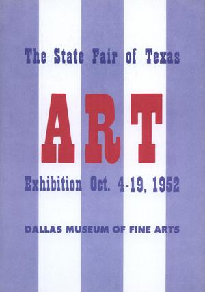 Primary view of object titled 'The Fourteenth Annual Exhibition of Texas Painting and Sculpture 1952'.