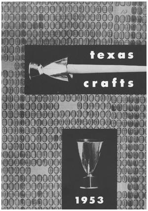 Primary view of object titled 'Fifth Annual Texas Crafts Exhibition 1953'.