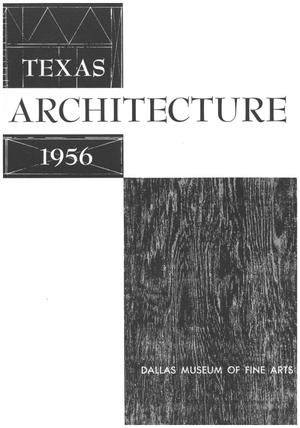 Primary view of object titled 'Texas Architecture 1956'.