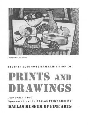 Primary view of object titled 'Seventh Southwestern Exhibition of Prints and Drawings'.