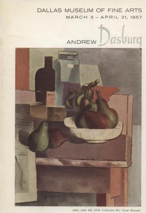 Primary view of object titled 'Andrew Dasburg'.