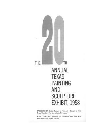 The 20th Texas Annual Exhibition of Painting and Sculpture
