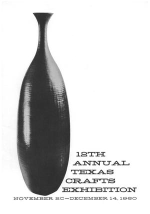 Primary view of object titled '12th Annual Texas Crafts Exhibition'.
