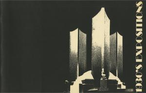 Primary view of object titled '1930's Expositions'.