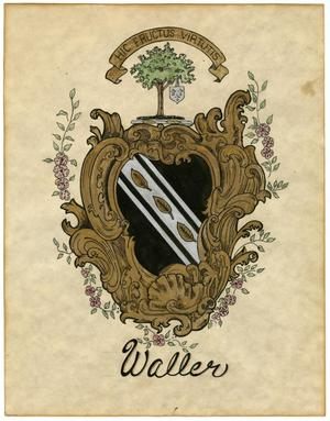 Waller Family Coat of Arms
