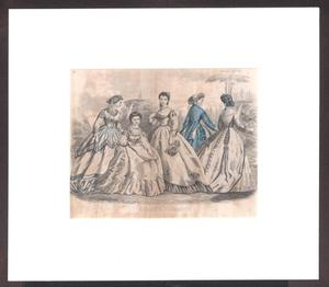 Primary view of object titled 'Godey's Fashions for May 1865'.