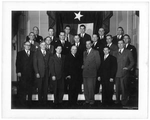 Photograph of the Texas Delegation during the 80th U.S. Congress, 1947-1949