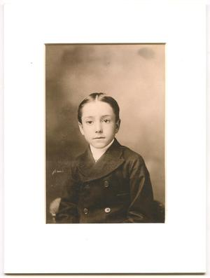 Primary view of Photograph of a young Abner Rayburn