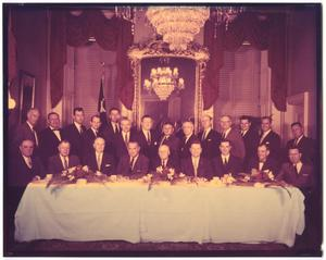 Primary view of object titled 'Photo of 1960 Texas Democratic delegates in the U.S. House of Representatives, 86th Congress'.