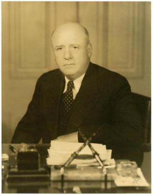 Primary view of object titled 'Photo of Sam Rayburn'.