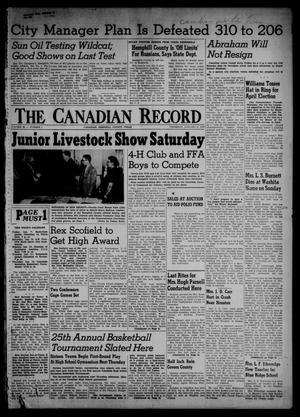 The Canadian Record (Canadian, Tex.), Vol. 66, No. 1, Ed. 1 Thursday, January 6, 1955