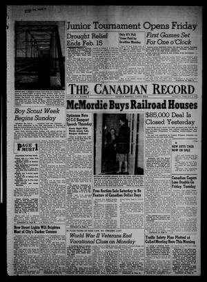 The Canadian Record (Canadian, Tex.), Vol. 66, No. 5, Ed. 1 Thursday, February 3, 1955