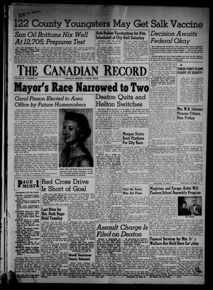 The Canadian Record (Canadian, Tex.), Vol. 66, No. 10, Ed. 1 Thursday, March 10, 1955