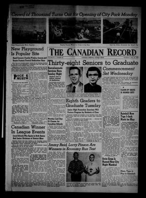 Primary view of object titled 'The Canadian Record (Canadian, Tex.), Vol. 66, No. 20, Ed. 1 Thursday, May 19, 1955'.
