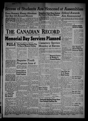 Primary view of object titled 'The Canadian Record (Canadian, Tex.), Vol. 66, No. 21, Ed. 1 Thursday, May 26, 1955'.