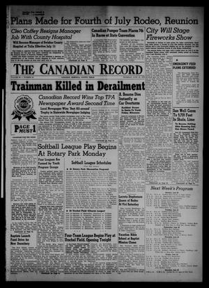 The Canadian Record (Canadian, Tex.), Vol. 66, No. 24, Ed. 1 Thursday, June 16, 1955