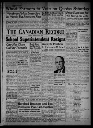 The Canadian Record (Canadian, Tex.), Vol. 66, No. 25, Ed. 1 Thursday, June 23, 1955