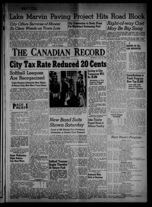 Primary view of object titled 'The Canadian Record (Canadian, Tex.), Vol. 66, No. 28, Ed. 1 Thursday, July 14, 1955'.